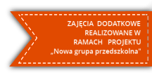 Projekt Nowa Grupa Przedszkolna - Harmonogram